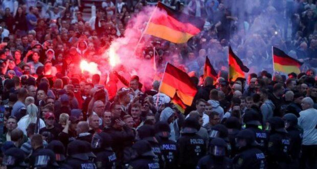 زيادة عدد اليمينيين المتطرفين العنيفين في ألمانيا