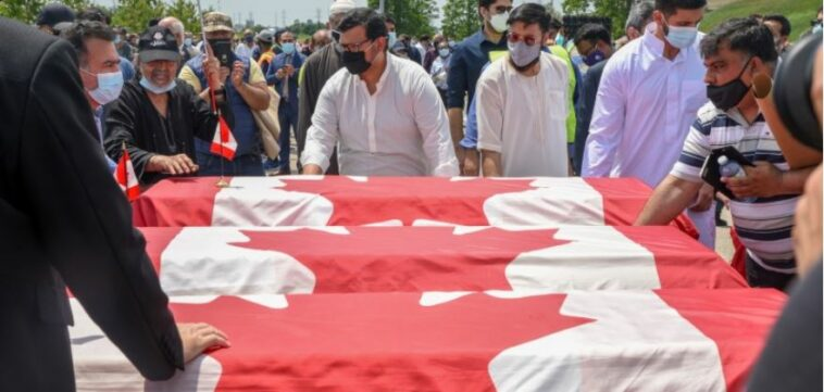 دهس عائلة مسلمة في كندا