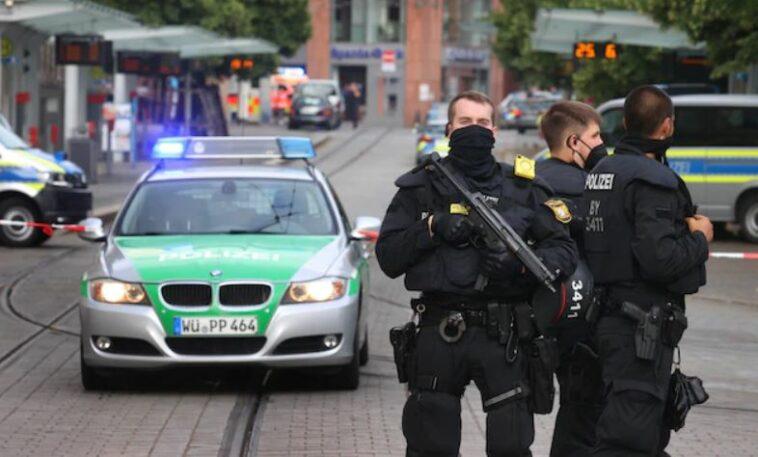 هجوم بسكين في ألمانيا