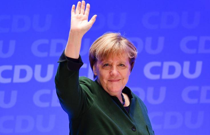 ميركل مستشارة ألمانيا البوندستاغ البرلمان الألماني