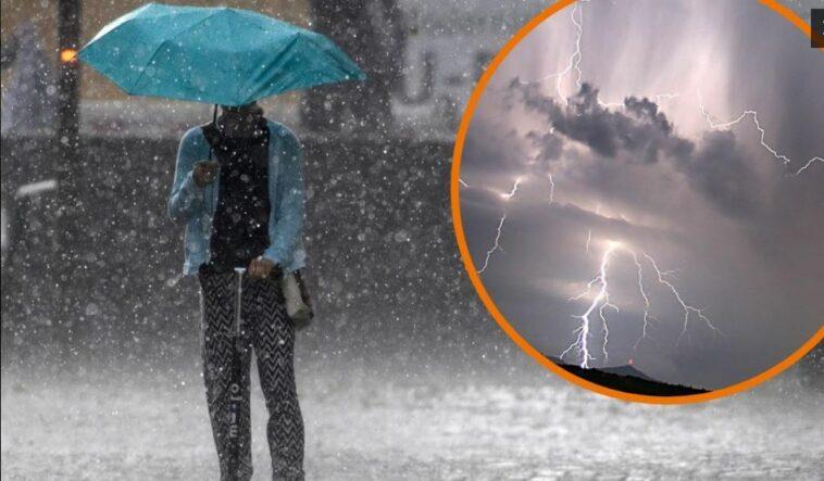 الطقس في ألمانيا عواصف رعدية