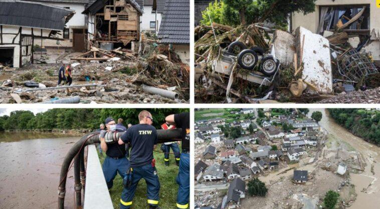 ضحايا فيضانات ألمانيا