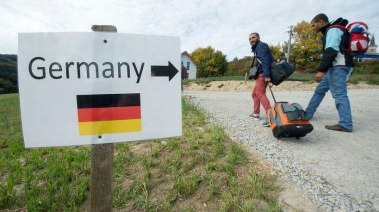 اللجوء إيطاليا ألمانيا