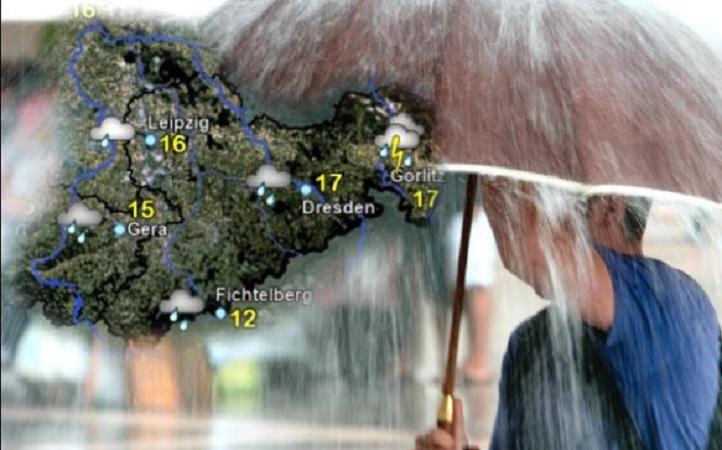الطقس في ألمانيا مستوى تحذير أحمر