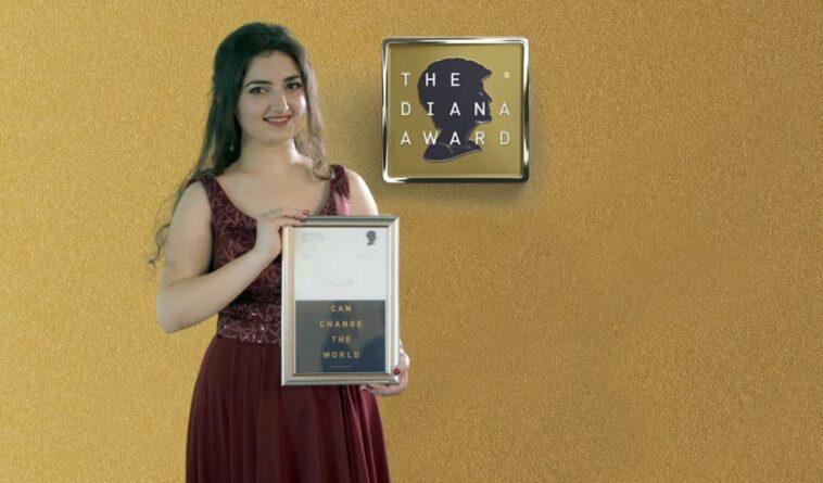 ألمانيا: رودي علي شابة سورية تحصل على جائزة الأميرة ديانا الدولية 2021