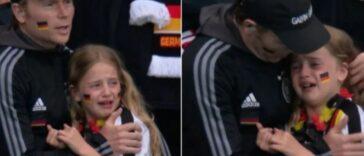 الطفلة الألمانية تريد التبرع بالمال الذي جُمع من أجلها بعد مباراة انكلترا وألمانيا