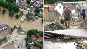 تبرع لضحايا الفيضانات في ألمانيا