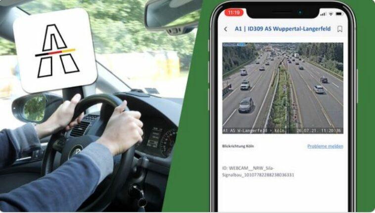 تطبيق Autobahn تطبيق جديد للسائقين في ألمانيا