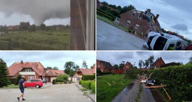 إعصار في ألمانيا