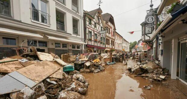 تحقيق فيضانات ألمانيا