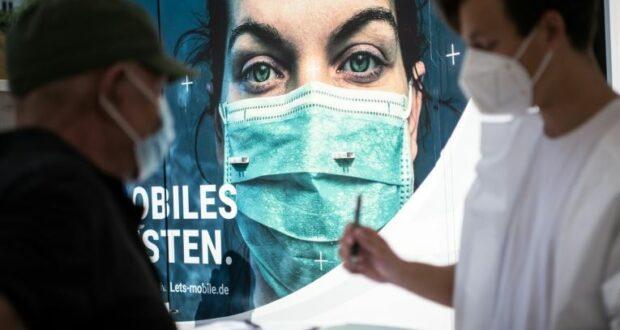 الموجة الرابعة من الوباء في ألمانيا