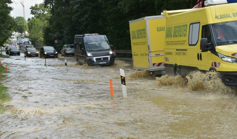 أمطار غزيرة في ألمانيا