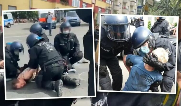 عنف الشرطة في ألمانيا برلين