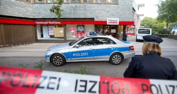 سرقة بنك في ألمانيا