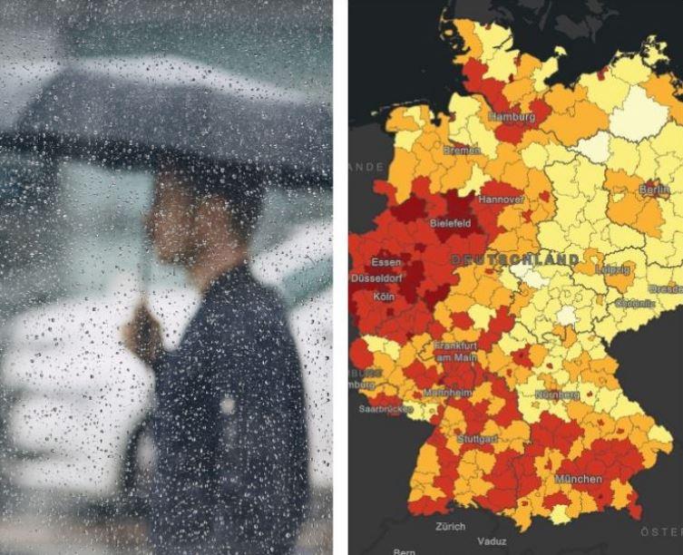 الطقس ألمانيا