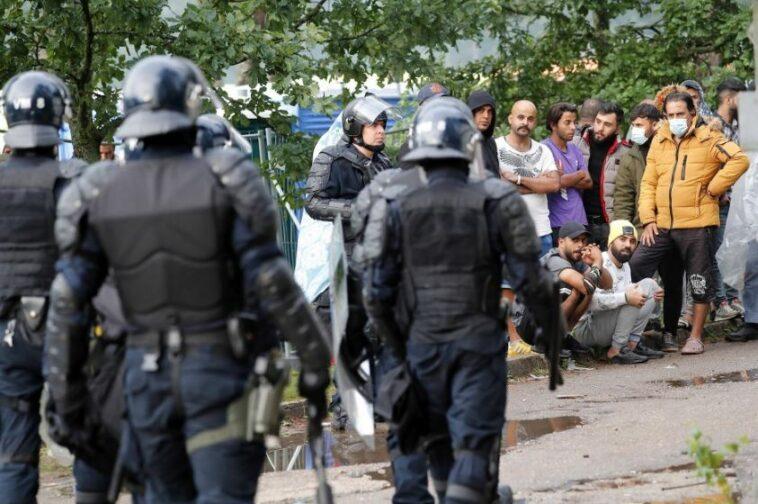 لاتفيا المهاجرين