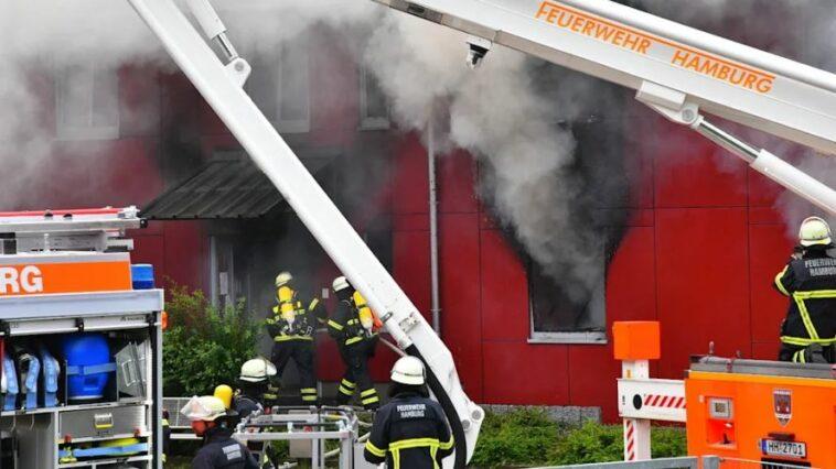 ألمانيا: حريق في مركز لإيواء اللاجئين
