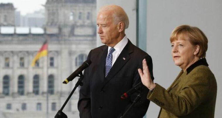 """ميركل رفضت""""ميزة"""" تلقيها أول اتصال يجريه بايدن بعد تنصيبه رئيساً لأمريكا"""