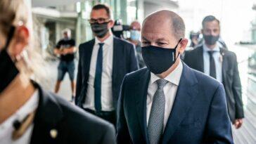ألمانيا: البوندستاغ يستجوب وزير المالية الألماني أولاف شولتز في قضية غسيل أموال