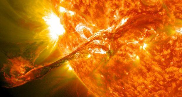 عاصفة شمسية نهاية الإنترنت ليلة 11 أكتوبر