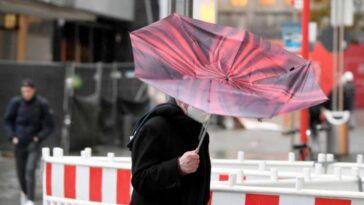 طقس خطير في ألمانيا عاصفة