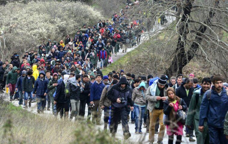عدد المهاجرين الواصلين إلى ألمانيا عبر بيلاروسيا