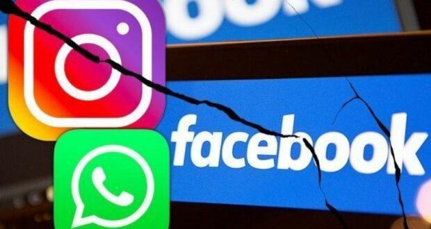 توقف فيسبوك وواتساب وانستغرام عن العمل
