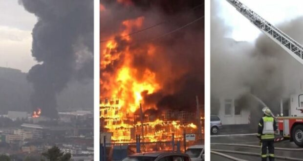 ألمانيا: حريق في مصنع بمدينة هاغن