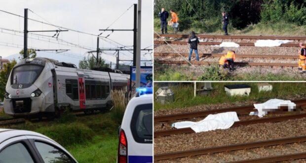 قطار يدهس مهاجرين جزائريين في فرنسا