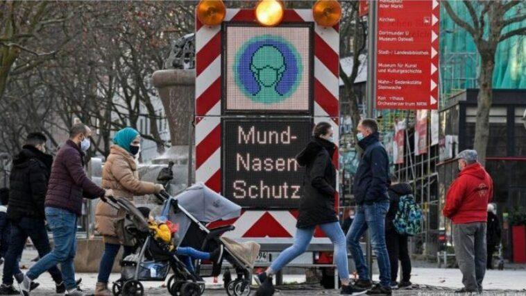 معدل الإصابة في ألمانيا فيروس كورونا