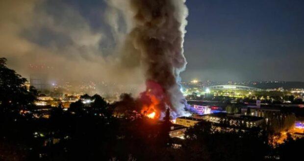 ألمانيا: حريق في شتوتغارت