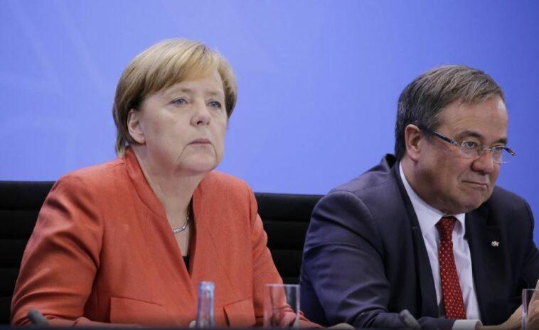 ألمانيا قيادة حزب ميركل